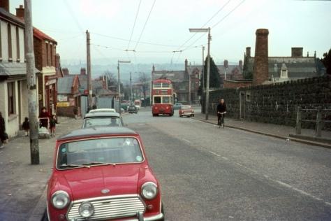 British_Trolleybuses_-_Belfast_-_geograph_org_uk_-_55268814 April 1968