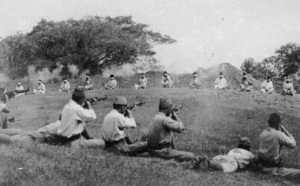 Japanese_shooting_blindfolded_Sikh_prisonersJapanese soldiers shooting blindfolded Sikh prisoners
