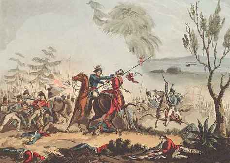 The Battle of Albuera (16 May 1811) was a battle during the Peninsular War.