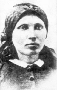 Anna Månsdotter, the last woman to be executed in Sweden.