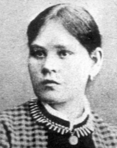 The murdered Hanna Johansdotter (1867-1889).