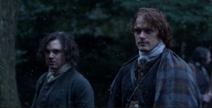 Outlander 1x09 The Reckoning Snow Sonya Heaney