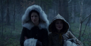 Outlander 1x10 Claire and Geillis Sonya Heaney