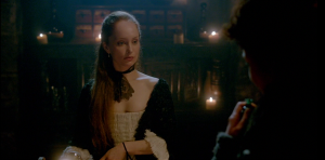 Outlander 1x10 Geillis and Claire Sonya Heaney