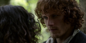 Outlander 1x11 Claire and Jamie 2 Sonya Heaney