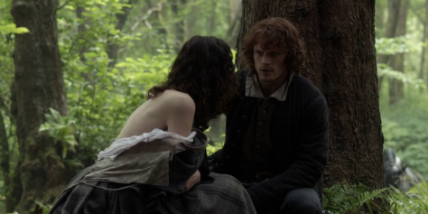 Outlander 1x11 Claire and Jamie Sonya Heaney