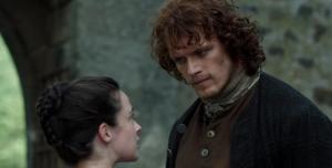 Outlander 1x12 Jenny Jamie Sonya Heaney