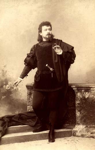 Polish Tenor Jean de Reszke as Gounod's Romeo. Nineteenth Century.