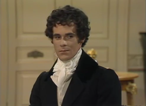 Pride and Prejudice 1980 David Rintoul Mr Darcy Rosings Park Sonya Heaney
