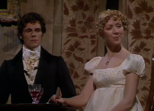 Pride and Prejudice 1980 Episode One Mr Darcy Caroline Bingley Sonya Heaney