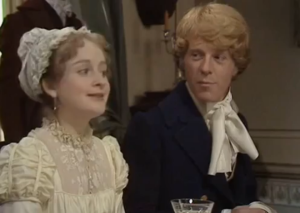 Pride and Prejudice 1980 Lrida and Mr Wickham