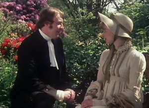 Pride and Prejudice 1980 Mr Collins Charlotte Lucas