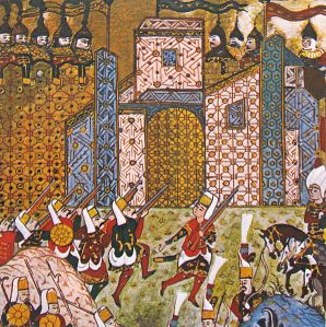 5On the 26th of June 1522 the Ottomans (Turks) began the Siege of Rhodes and eventually conquered, securing the eastern Mediterranean, after more than one attempt.