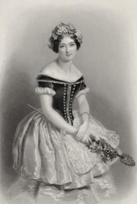 Carlotta Grisi as the first Act I Giselle (1842)