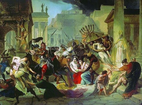 Genseric Sacking Rome 2nd June 455