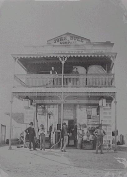 John Bull's Store, Queanbeyan, c. 1883.