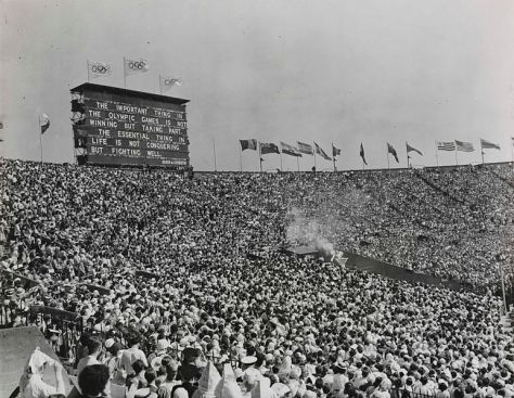 The XIV Olympic Games opens in London, 29th July 1948. 772px-The_XIV_Olympic_Games_opens_in_London,_1948