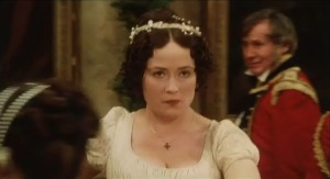 Elizabeth Bennet Dancing Pride and Prejudice 1995 Sonya Heaney BBC