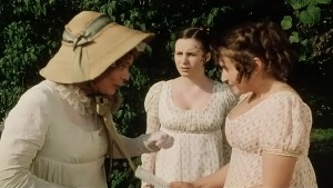 Mrs Bennet Kitty Lydia Sonya Heaney Pride and Prejudice 1995 BBC