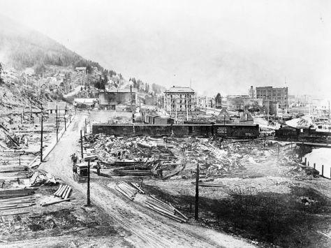 Wallace Idaho 1910 fire