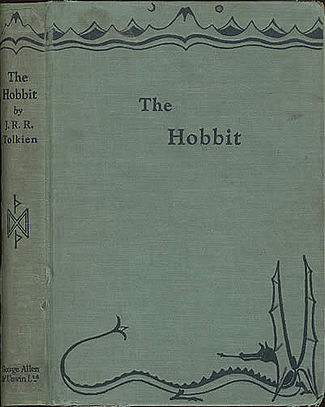 Today, the 21st of September, is the 78th anniversary of the publication of J. R. R. Tolkien's The Hobbit.1937. FIRST EDITION