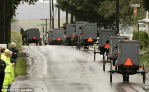 Amish Funeral procession The community was devastated by the multiple shootings in rural Pennsylvania in 2006