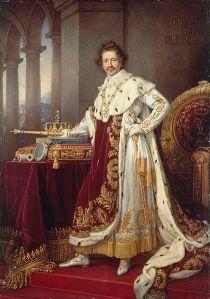 King Ludwig I of Bavaria in Coronation Regalia 1826
