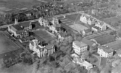 Queen's University from the air in 1919.