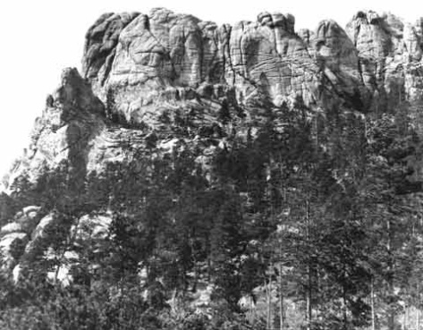 Six_GrandfathersAn image of Mount Rushmore — before construction began on the Mount Rushmore National Memorial. 1905.
