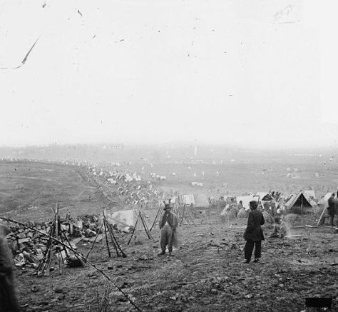 Battle of Nashville Federal outer line, December 16, 1864.