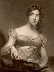 English Actress Sarah Booth. Early 19th Century.