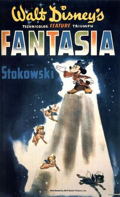 Fantasia-poster-1940Fantasia is a 1940 American animated film produced by Walt Disney and released by Walt Disney Productions.
