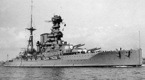 HMS Barham mid-1930s