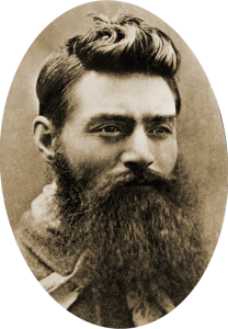 Ned Kelly the day before his execution 10th November 1880