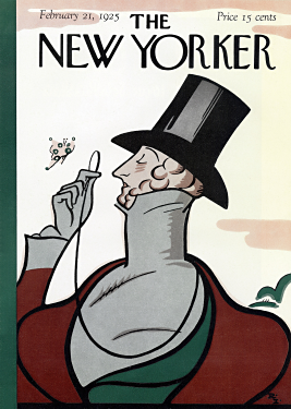Original_New_Yorker_coverThe cover of the first issue of The New Yorker, drawn by Rea Irvin.