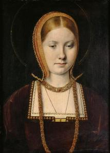 Portrait of a princess(Infanta Catherine of Aragon or Mary Rose Tudor) circa 1502
