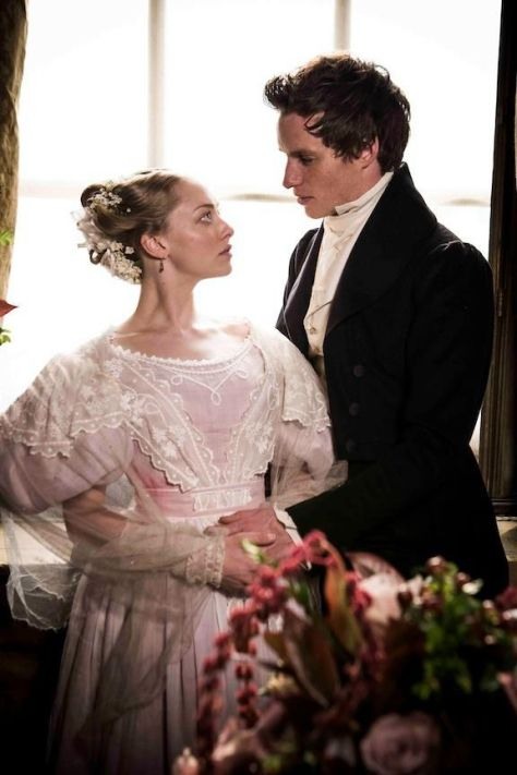 Amanda Seyfried and Eddie Redmayne portray the characters of Cosette and Marius. oWedding Day. 16th February 1833.
