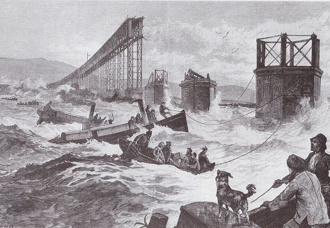 Catastrophe_du_pont_sur_le_Tay_-_1879_-_IllustrationContemporary illustration of the search after the disaster.