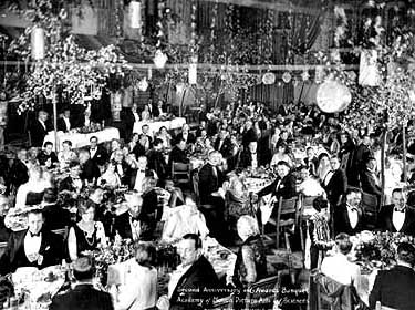 1stOscars_1929The 1st Annual Academy Awards Presentations on 16 May, 1929.