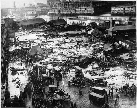 BostonMolassesDisasterPanorama of the Molasses Disaster site.