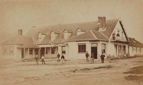 Doncaster Hotel, Braidwood, around April-May 1870