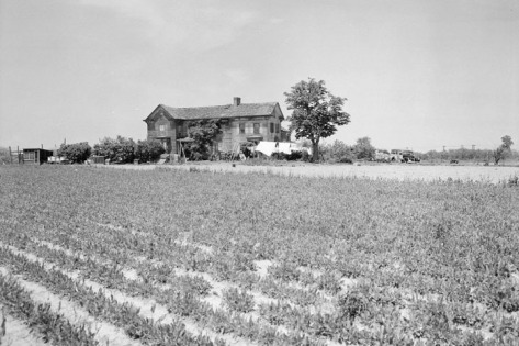 Powell House at 195th Street and 58th Avenue North, Queens, on May 20, 1941.