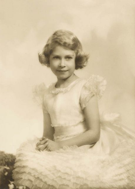 Princess Elizabeth, 1 November 1934 by Marcus Adams.
