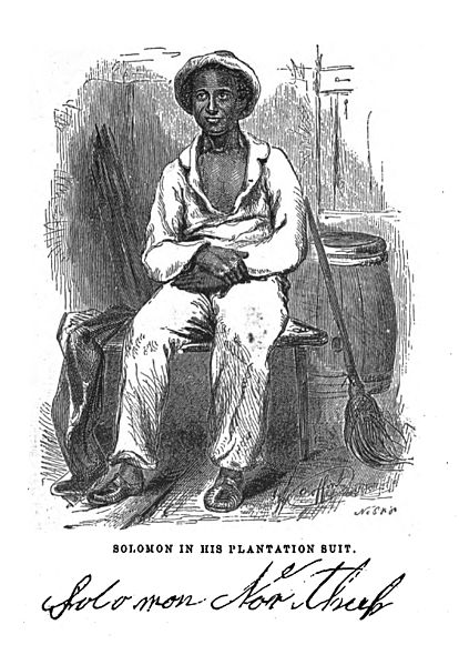Sketch of Solomon Northup 1855