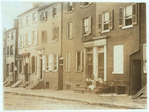 tatnall-streetChildren playing next to a reputed house of prostitution on Tatnall Street, Wilmington, Delaware, 1910.