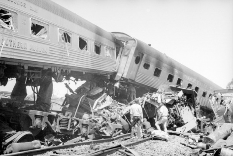 1969 Southern Aurora train crash at Violet Town
