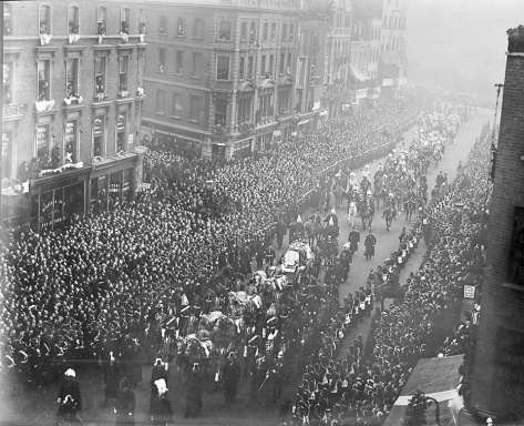 Funeral procession of Queen Victoria 2nd February 1901