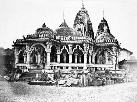 Kalupur_Swaminarayan_temple_Ahmedabad_1866