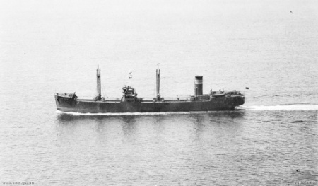 On the 8th of February, 1943, a Japanese torpedo was fired at the Australian SS Iron Knight off the coast of southern New South Wales. The ship was sunk.