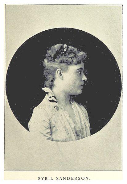 ELSON(1891) p279 Sybil SANDERSON